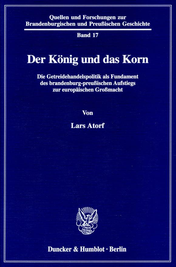 Cover Quellen und Forschungen zur Brandenburgischen und Preußischen Geschichte (QUF)