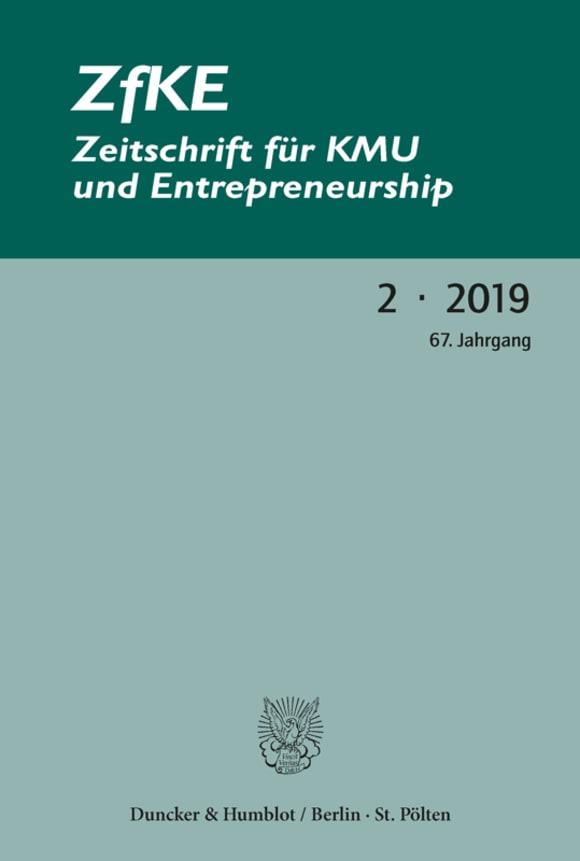Cover ZfKE 2/2019