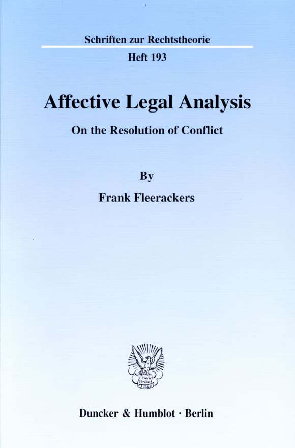 Cover Affective Legal Analysis