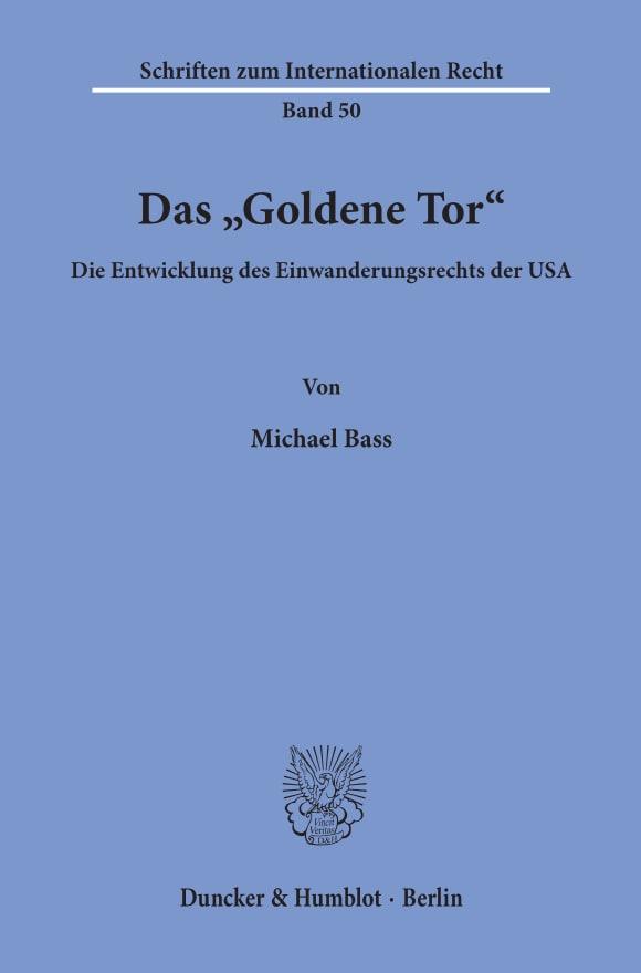 """Cover Das """"Goldene Tor"""""""