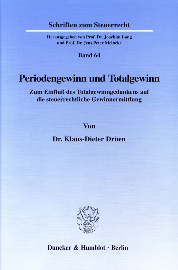 Cover Periodengewinn und Totalgewinn