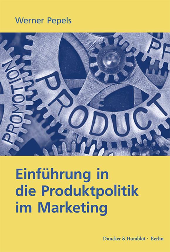Cover Einführung in die Produktpolitik im Marketing