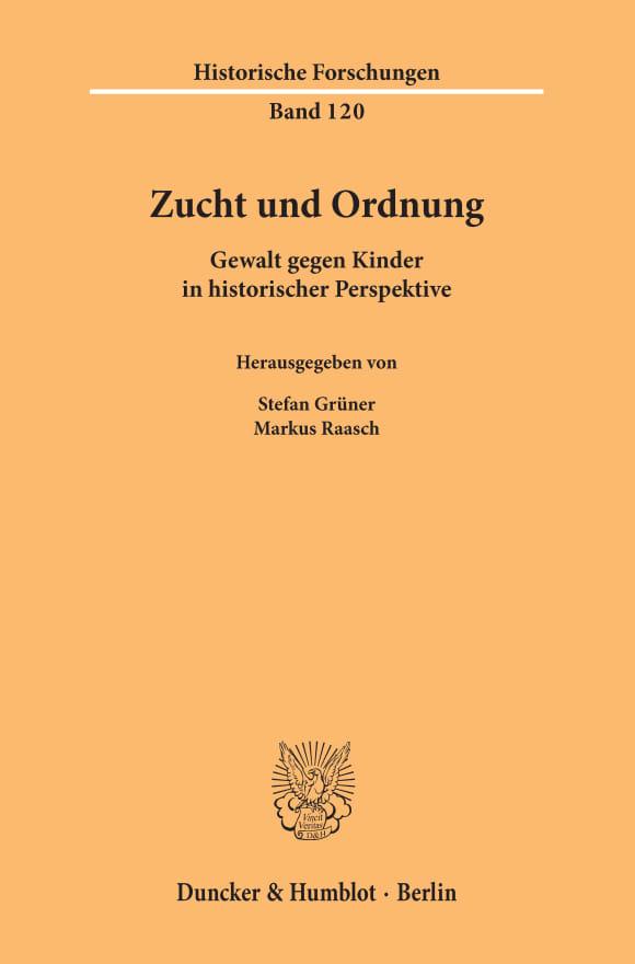 Cover Zucht und Ordnung