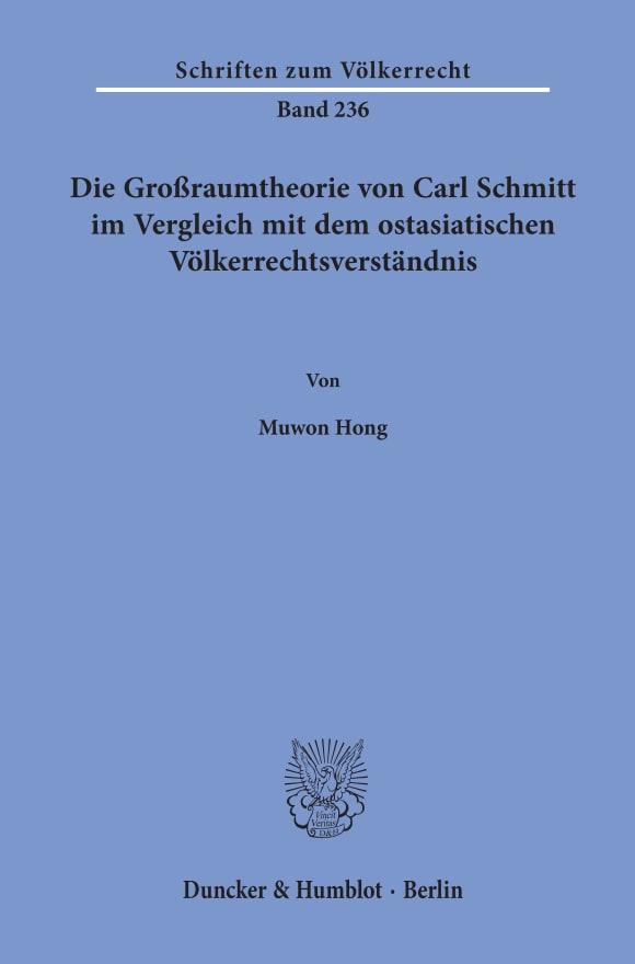 Cover Schriften zum Völkerrecht (SVR)