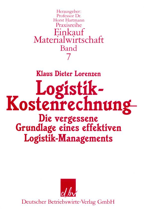 Cover Logistik-Kostenrechnung
