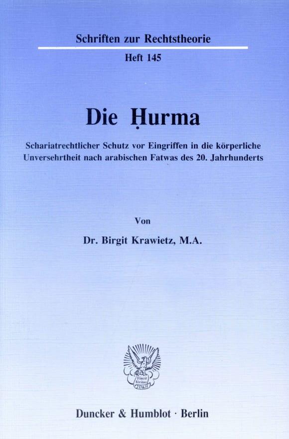 Cover Die Ḥurma