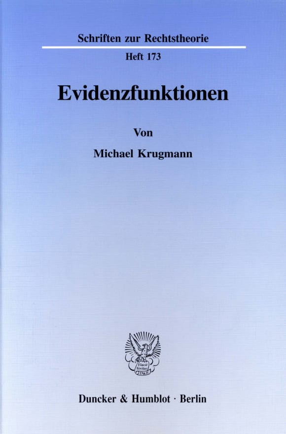 Cover Evidenzfunktionen