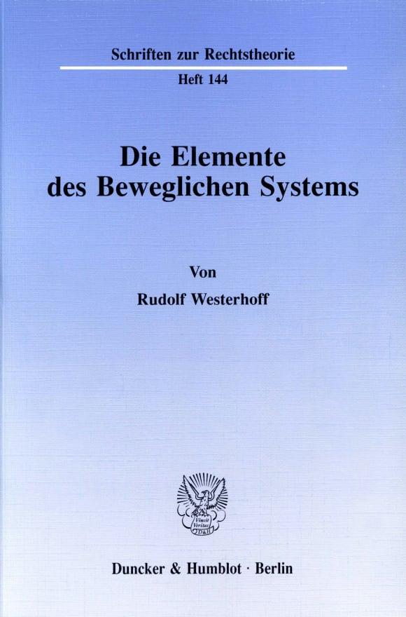 Cover Die Elemente des Beweglichen Systems