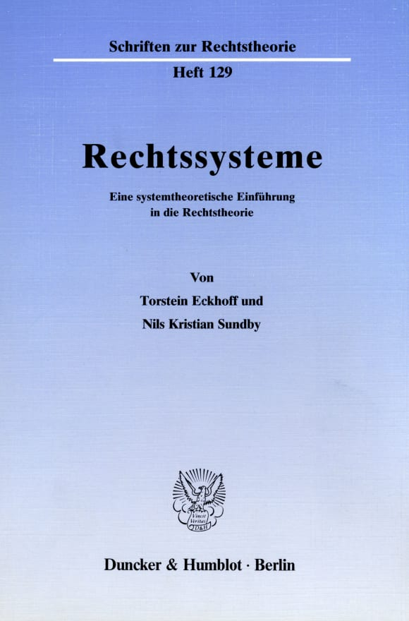 Cover Rechtssysteme