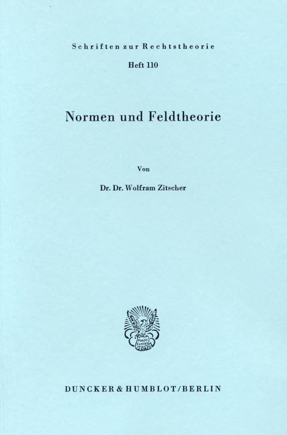 Cover Normen und Feldtheorie