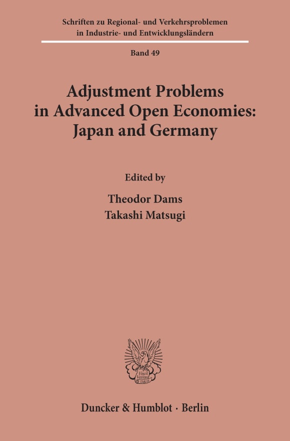 Cover Adjustment Problems in Advanced Open Economies: Japan and Germany