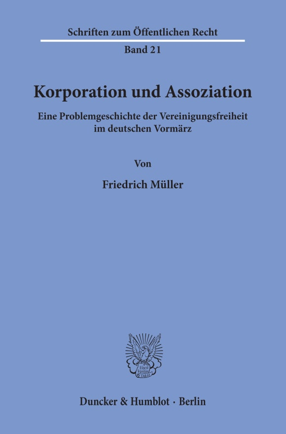 Cover Korporation und Assoziation