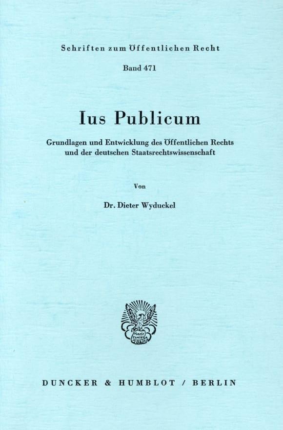 Cover Ius Publicum
