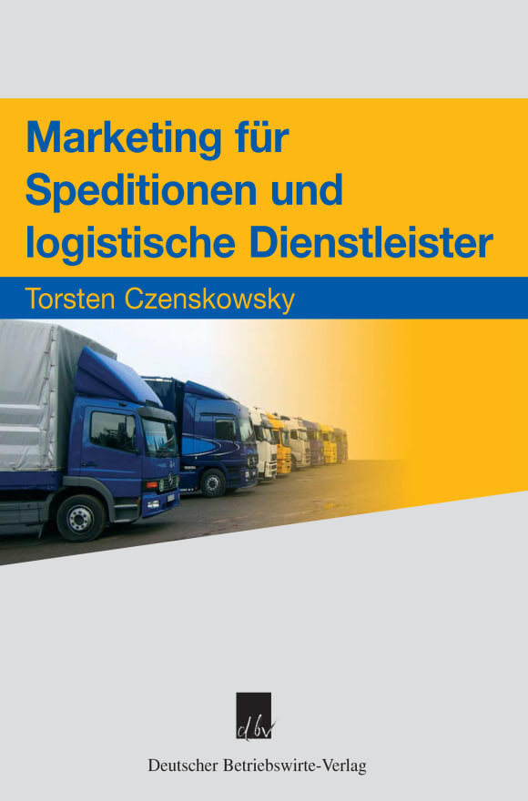 Cover Marketing für Speditionen und logistische Dienstleister