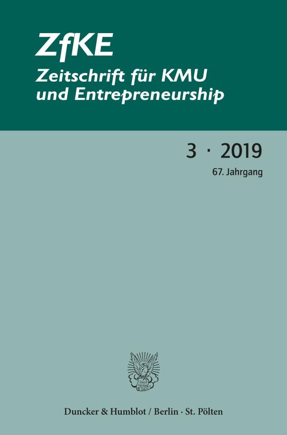 Cover ZfKE 3/2019