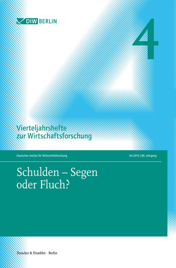 Cover Schulden – Segen oder Fluch? (VJH 4/2019)