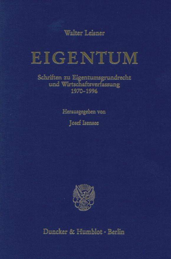 Cover EIGENTUM