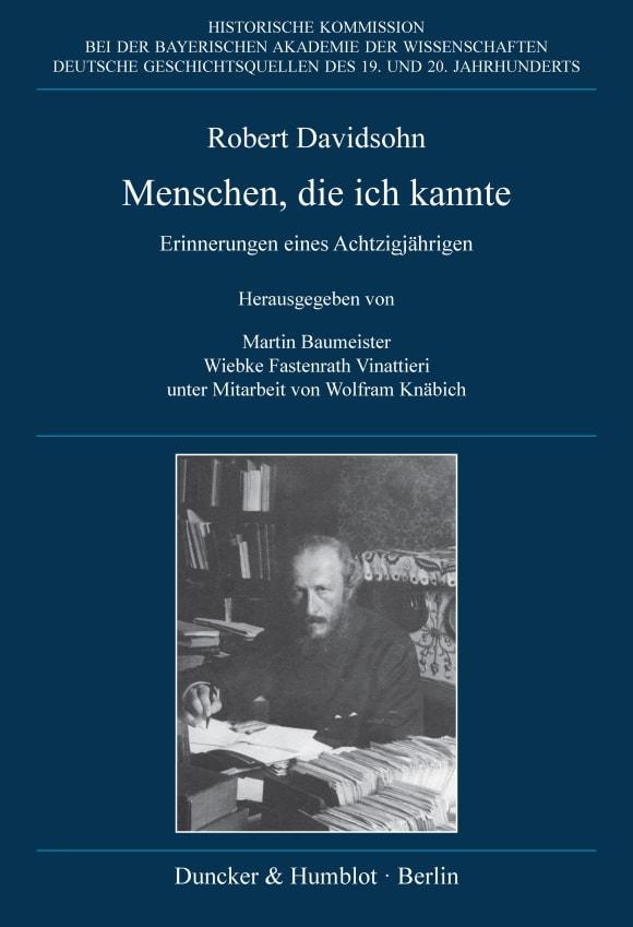 Cover Deutsche Geschichtsquellen des 19. und 20. Jahrhunderts (DGQ)