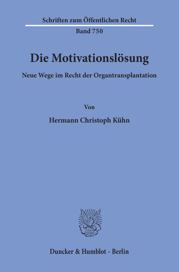 Cover Die Motivationslösung