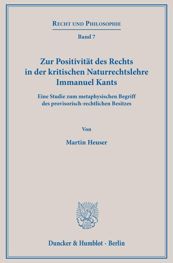 Cover Recht und Philosophie (RP)