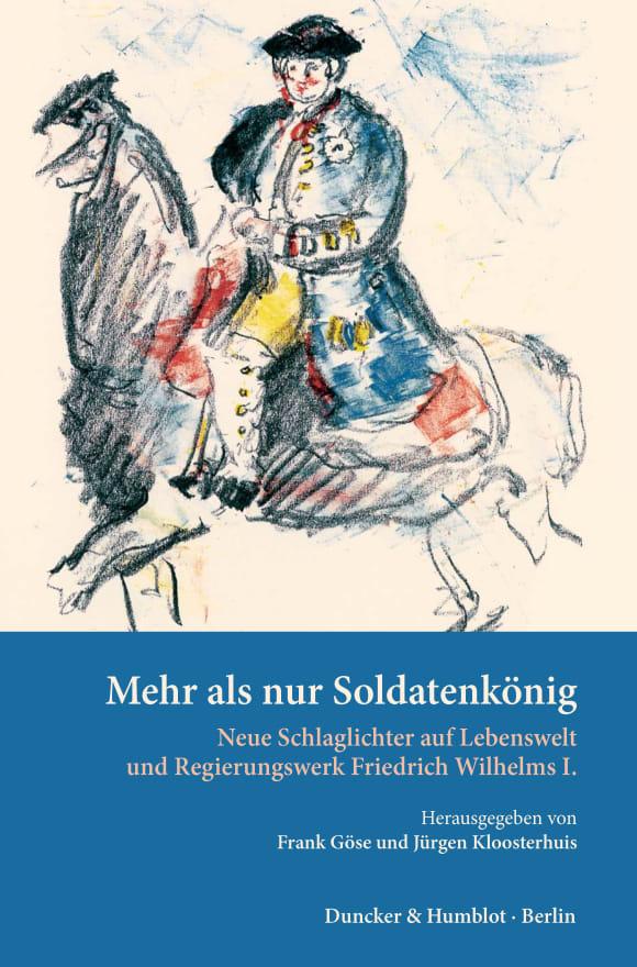 Cover Mehr als nur »Soldatenkönig«