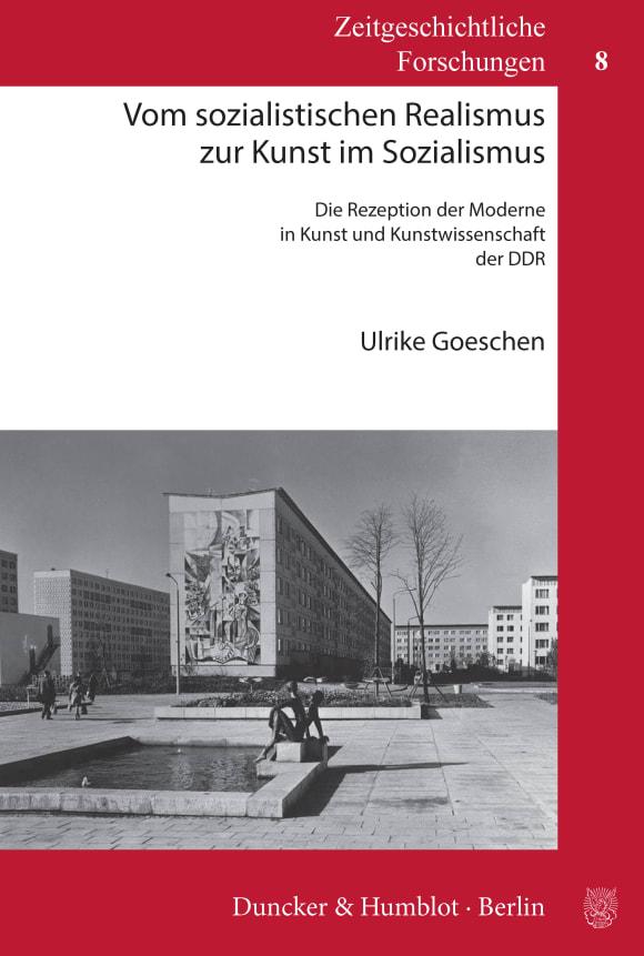 Cover Vom sozialistischen Realismus zur Kunst im Sozialismus