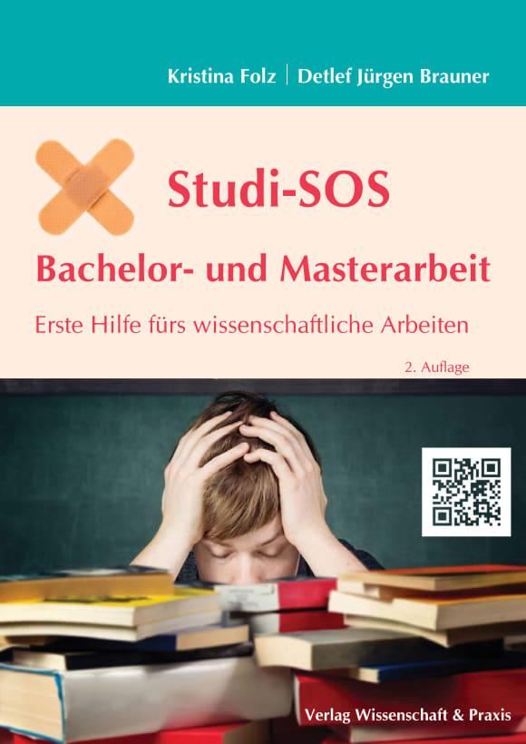 Cover Studi-SOS Bachelor- und Masterarbeit