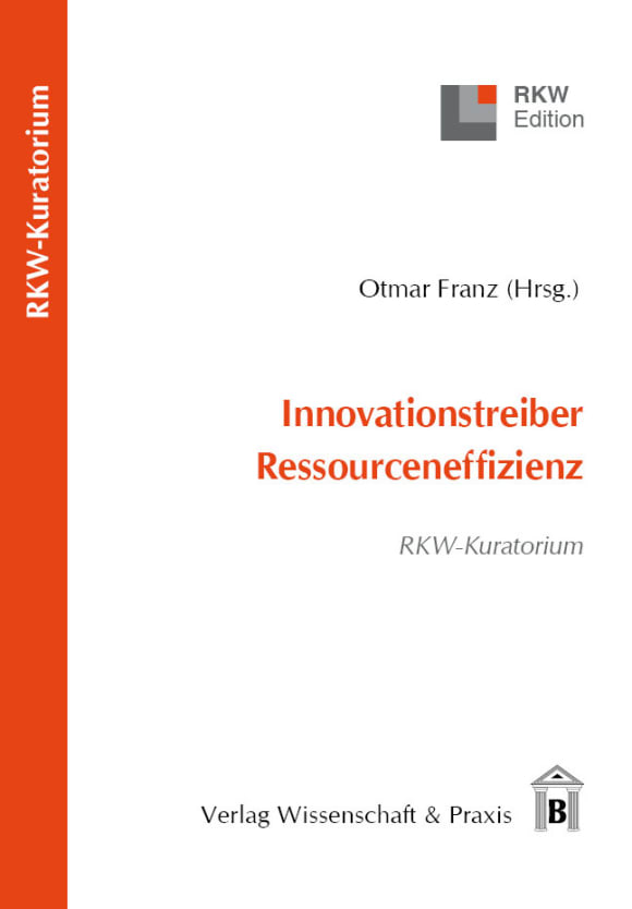 Cover Innovationstreiber Ressourceneffizienz