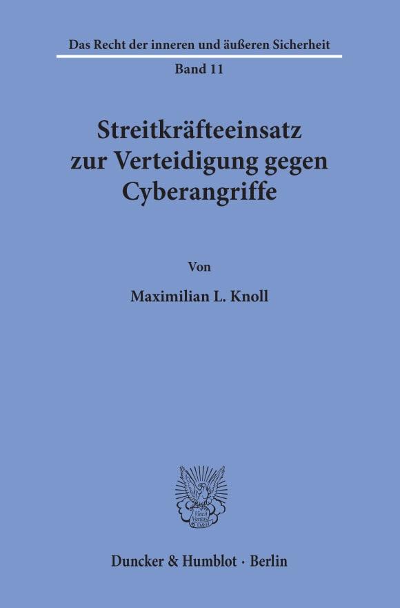 Cover Streitkräfteeinsatz zur Verteidigung gegen Cyberangriffe