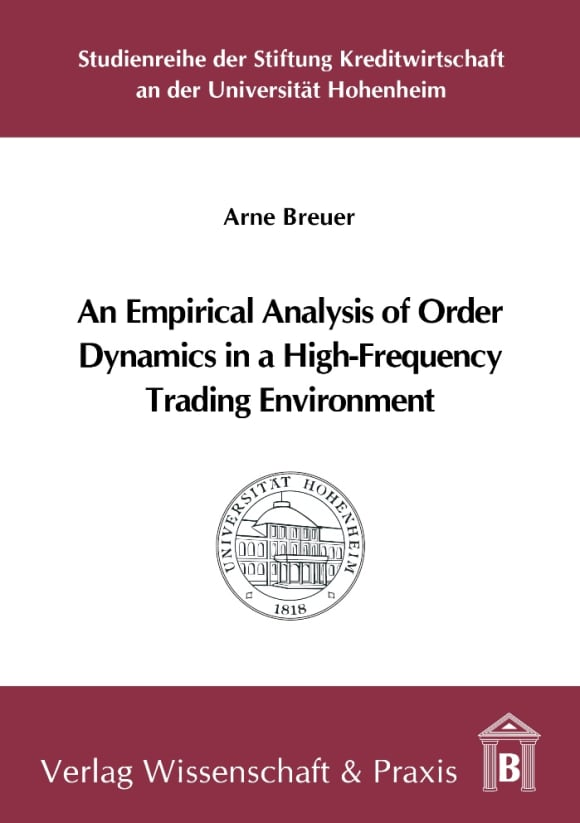 Cover An Empirical Analysis of Order Dynamics in a High Frequency Trading Environment