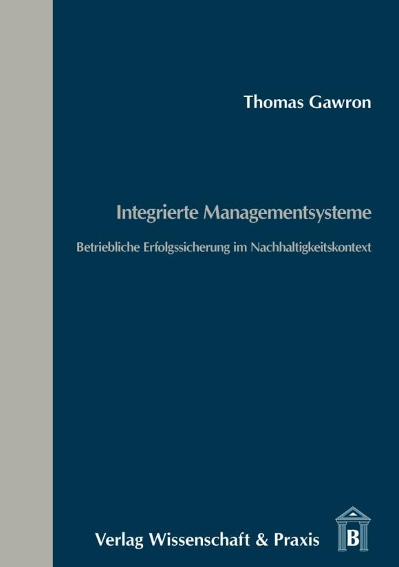 Cover Integrierte Managementsysteme