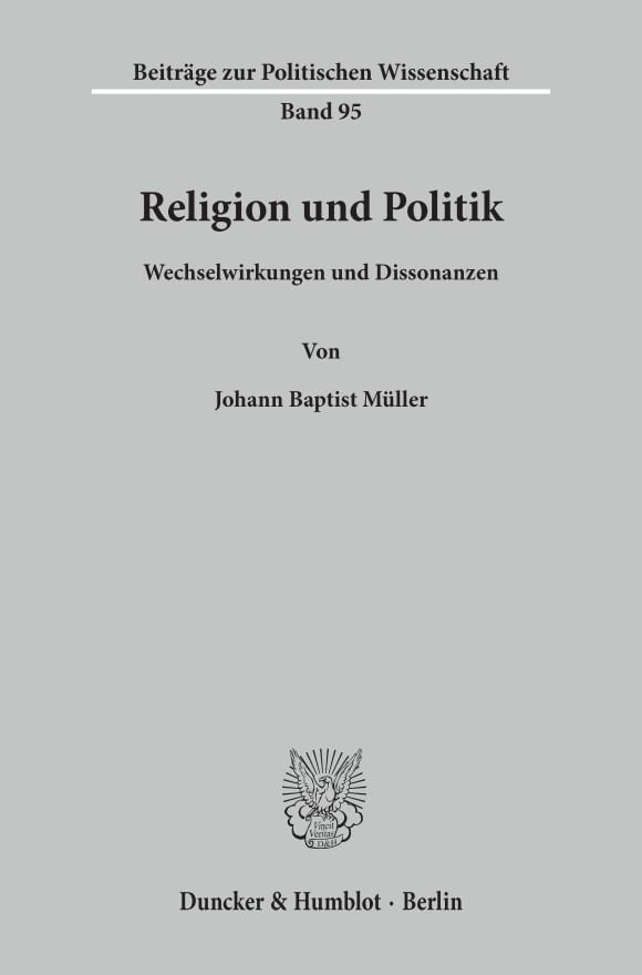 Cover Religion und Politik
