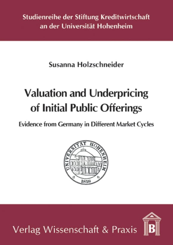 Cover Valuation and Underpricing of Initial Public Offerings