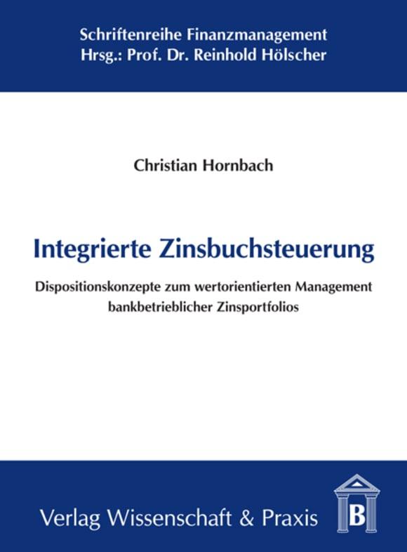 Cover Integrierte Zinsbuchsteuerung