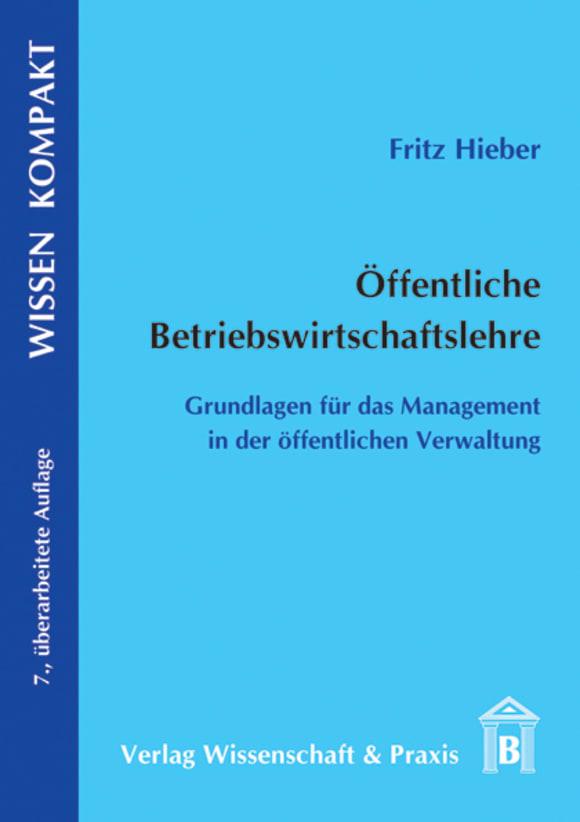 Cover Öffentliche Betriebswirtschaftslehre