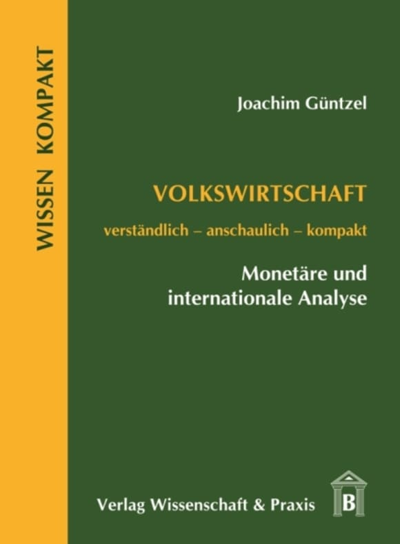 Cover Volkswirtschaft – Monetäre und internationale Analyse