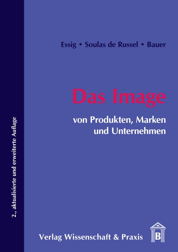 Cover Das Image von Produkten, Marken und Unternehmen