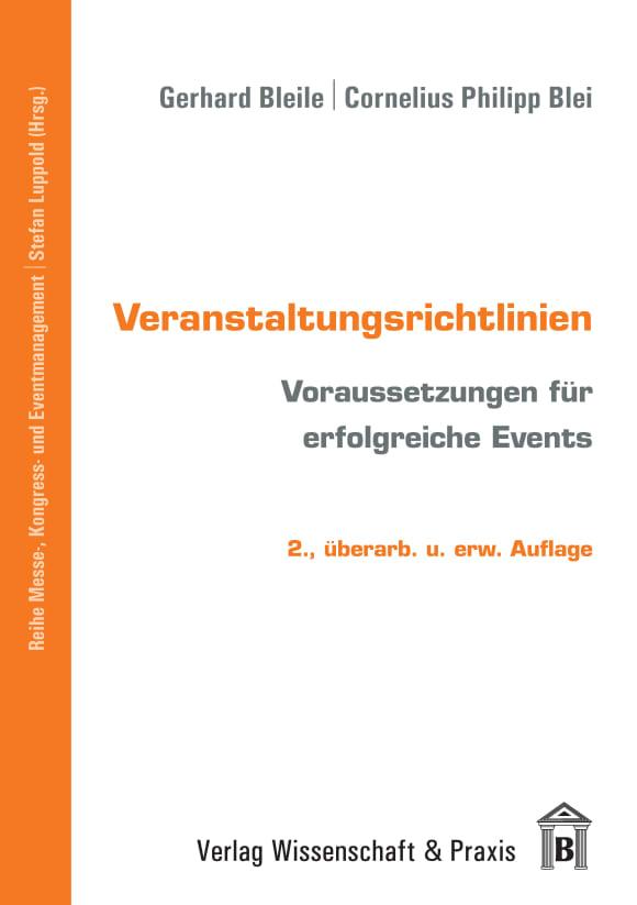 Cover Veranstaltungsrichtlinien