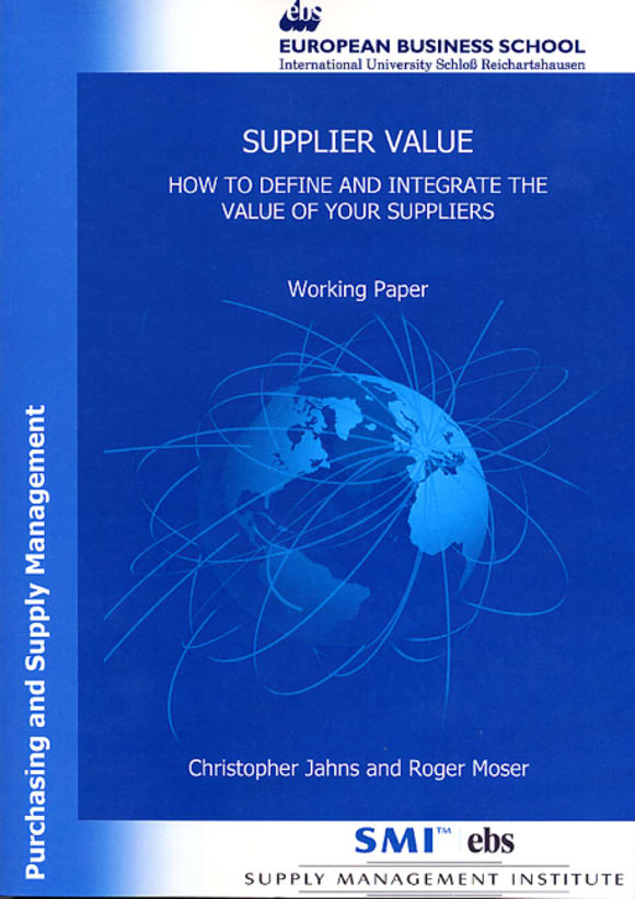 Cover Supplier Value