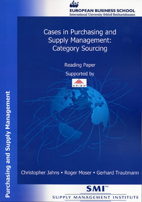 Cover Cases in Purchasing and Supply Management