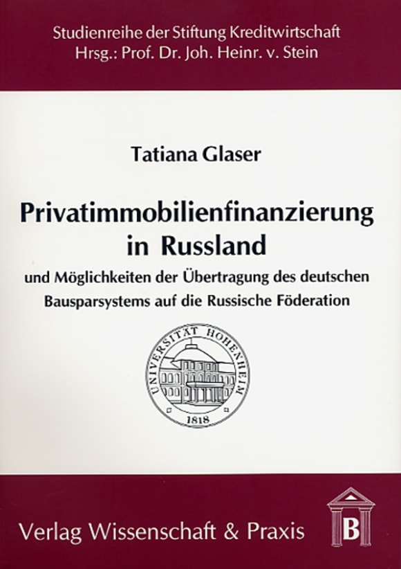 Cover Privatimmobilienfinanzierung in Russland