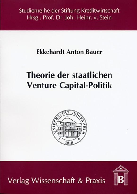Cover Theorie der staatlichen Venture Capital-Politik