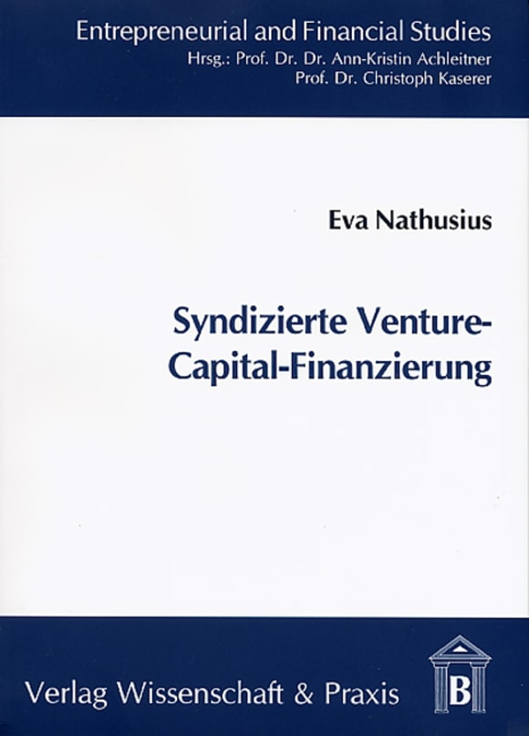 Cover Syndizierte Venture-Capital-Finanzierung