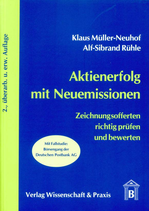 Cover Aktienerfolg mit Neuemissionen