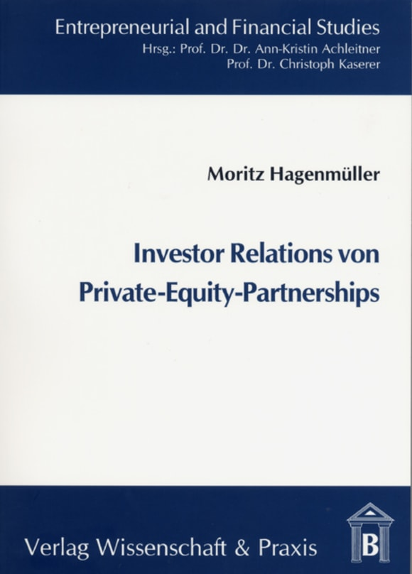 Cover Investor Relations von Private-Equity-Partnerships
