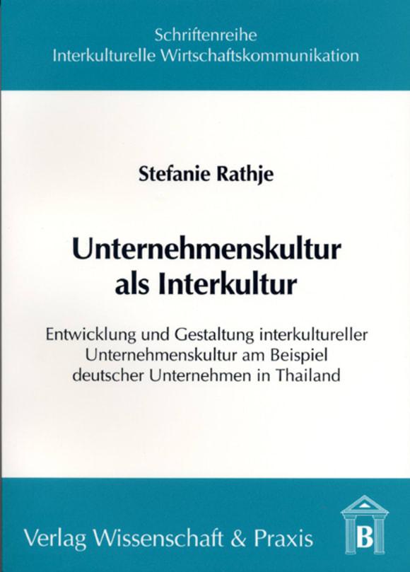 Cover Unternehmenskultur als Interkultur