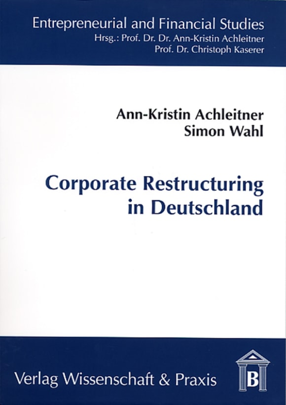 Cover Corporate Restructuring in Deutschland