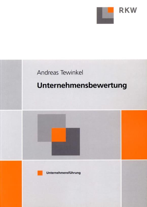 Cover Unternehmensbewertung