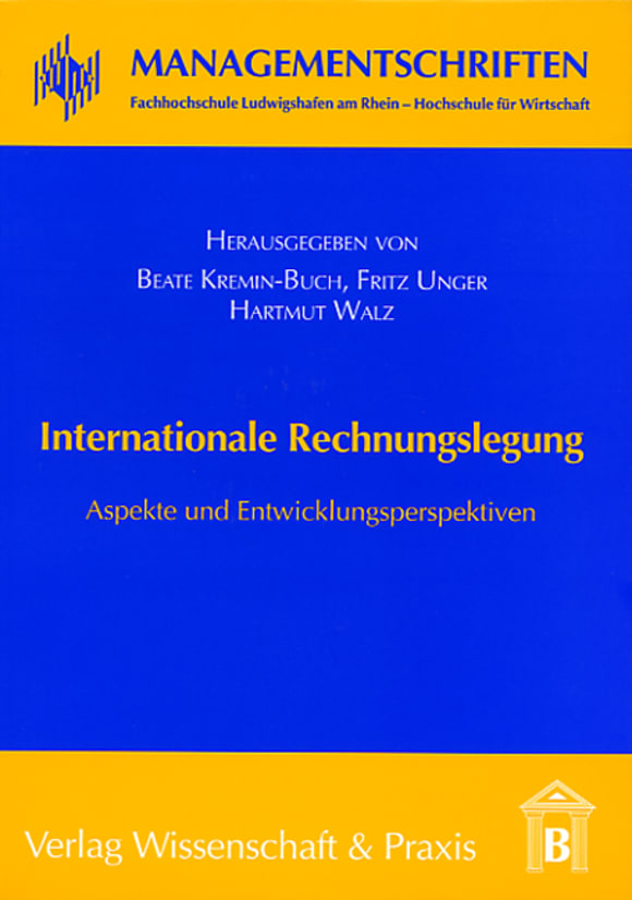 Cover Internationale Rechnungslegung