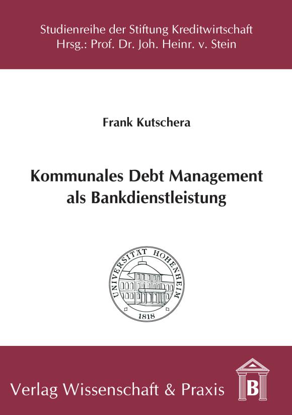 Cover Kommunales Debt Management als Bankdienstleistung
